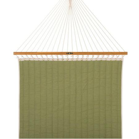 Large Quilted Fabric Hammock - Trellis Garden Stripe Hammock Trellis Stripe