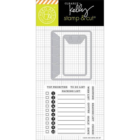 Kelly Purkey Stamp and Cut, To Do List ()