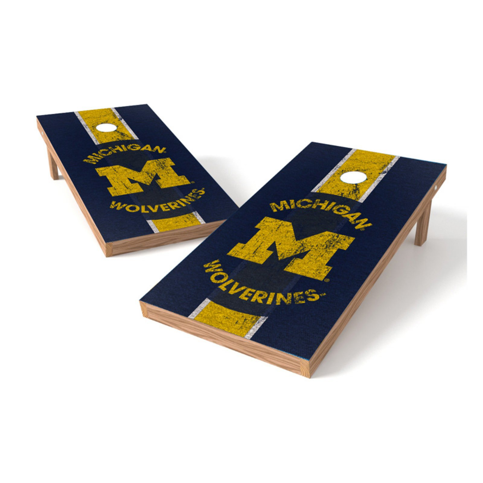 Wild Sales NCAA Heritage XL Shield Cornhole Set