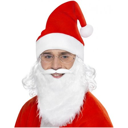 Santa Dress Up Kit Adult Costume