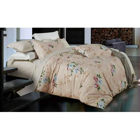 Victoria's Rose 100% Cotton 3 PCS Duvet Cover Set Queen size