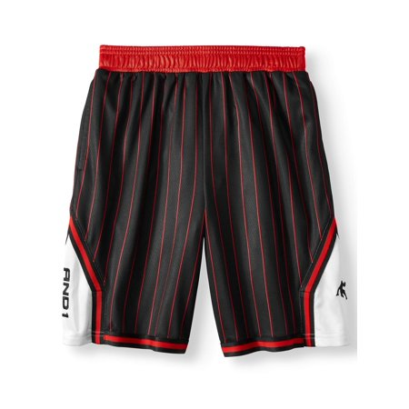 AND1 Lightweight Polyester Basketball Shorts with Pockets (Little Boys & Big Boys) Adidas Nba Basketball Shorts