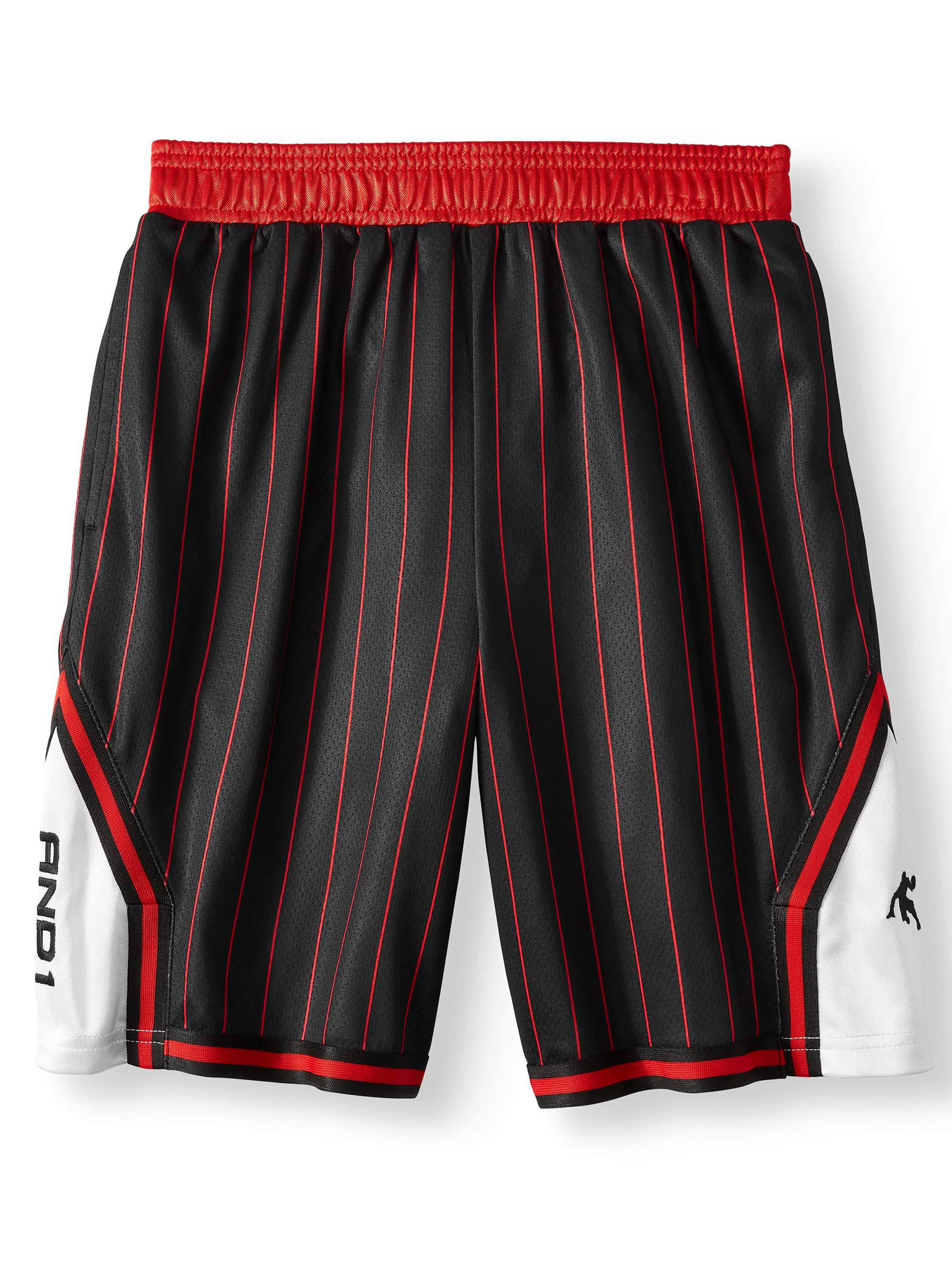 Lightweight Polyester Basketball Shorts with Pockets (Little Boys & Big Boys)