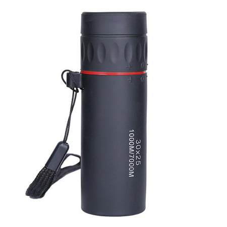 30x25 HD Optical Monocular Low Not Support Night Vision Waterproof Mini Portable Focus Telescope Zoomable 10X Scope for Travel