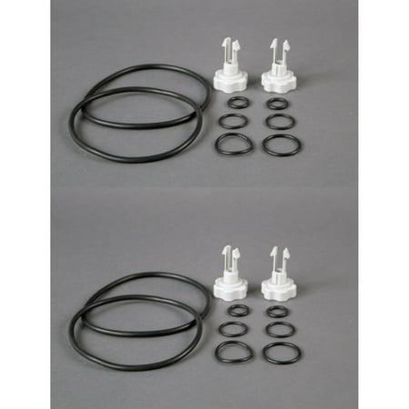 Intex 25003 1500 gal and Below Filter Pump Replacement Seals Pack Parts (2 Pack)