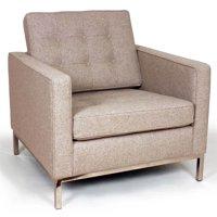 The Draper Lounge Chair - Wheat