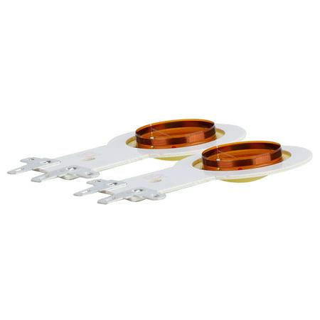 Sonew 2PCS 25.5mm Replacement Resin Diaphragm High Pitch Horn Sound Voice Coil, Horn Diaphragm, Voice Coil - image 6 de 7