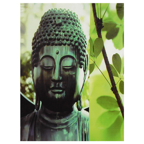 Oriental Furniture Buddha Photographic Print on Wrapped Canvas