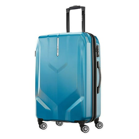 Samsonite Opto PC 2 25-Inch Hardside Spinner Checked Luggage in Turquoise