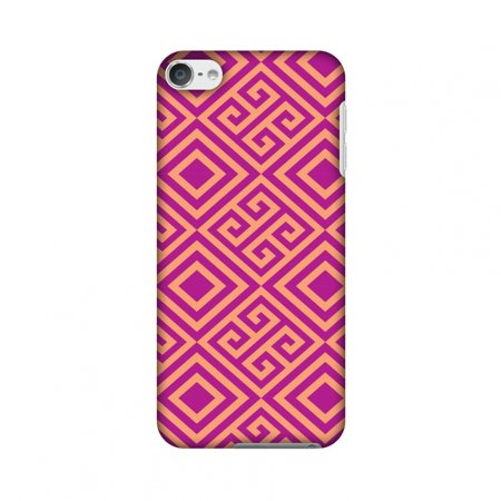 iPod Touch 6th Generation Case, Premium Slim Fit Handcrafted Printed Designer Hard Snap On Shell Case Back Cover for iPod Touch 6th Gen - Falling Squares