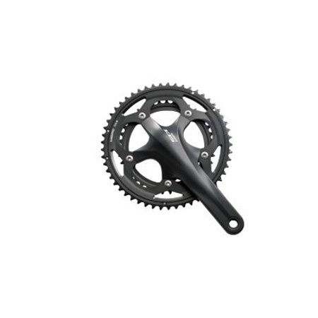 Shimano Fc-5700 105 Double 53/39 Crankset, 175Mm, Black