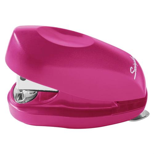 Swingline TOT Mini Stapler, 12-Sheet Capacity, Pink -SWI79174