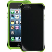 Ballistic AP1085-A005 Aspira Series Case for iPhone 5 - 1 Pack - Retail Packaging - Black/Lime Green