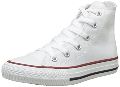 Converse 3J253: Kid Chuck Taylor All Star Core Optical White High Top (12 M US Little Kid, white) by Converse