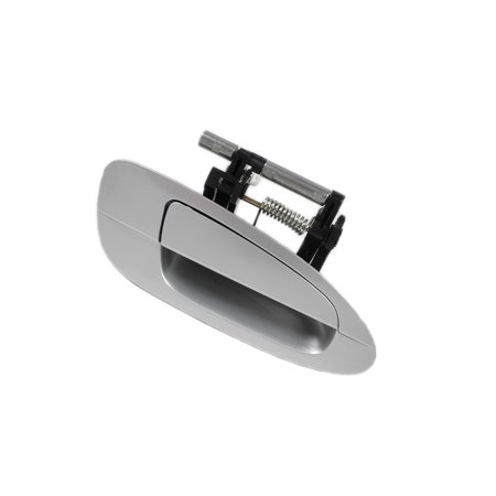 MotorKing B3768 Rear Right KY1 Silver Exterior Door Handle (Fits For 2002-2006 Nissan Altima)