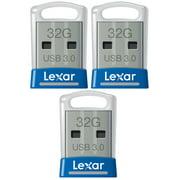 Lexar 3-Pack JumpDrive S45 32GB 3.0 Flash Drive