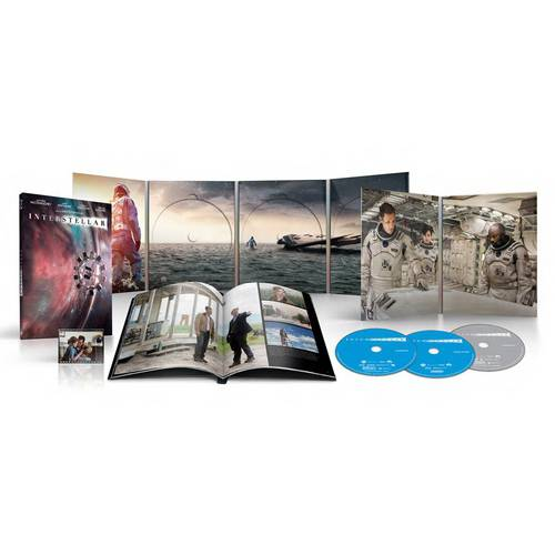 Interstellar (Collector's Edition) (2-Disc Blu-ray + DVD + Digital HD) (NEO-Pack Packaging + Art Book + IMAX Film Cel) (Walmart Exclusive)