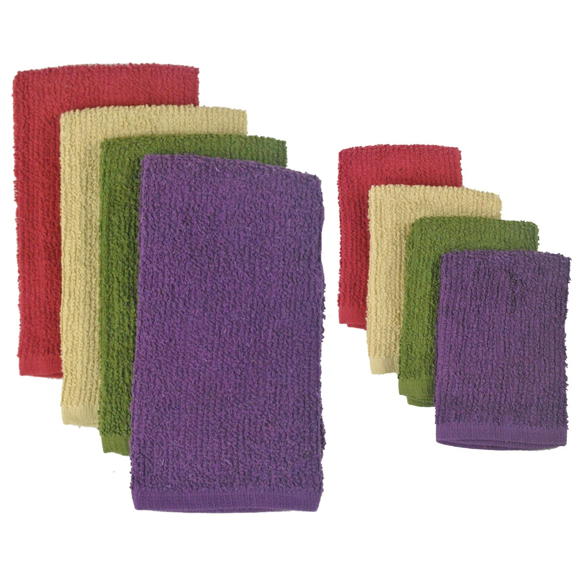 Design Imports Urban Bar Mop Dishtowel and Dishcloth Set (2 Pieces)