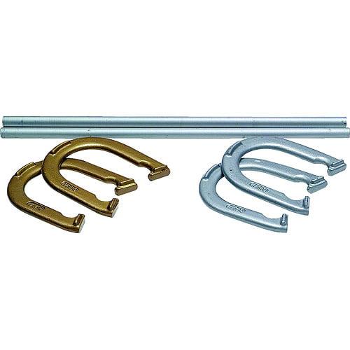 Steel Horseshoe Set by Champion Sports