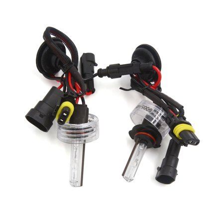 - 2 Pcs DC 12V 4300K 9005 HID Xenon Replacement Bulb Light Lamp for Auto Car