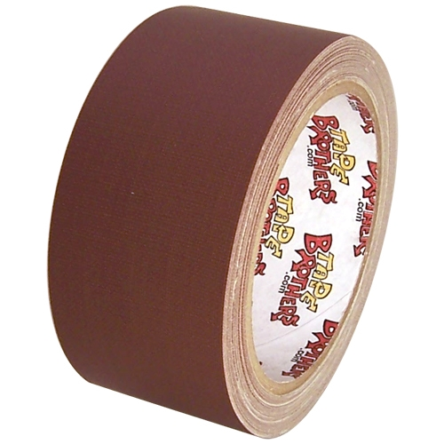 Gaffers / Spike Tape (low gloss finish) - 3 in x 45 yd - Dark Brown