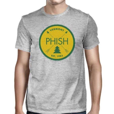 Phish Men's Vermont Est. 1983 T-Shirt Heather Grey