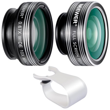 Neewer 3 In 1 Lens Kit for Android Tablets, Ipad, Laptops, Iphone 4 4S 5 5s 6