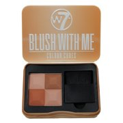 W7 - Blush With Me Colour Cubes Blusher Palette - Cassie Mac