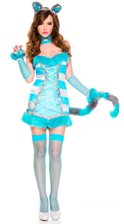 Cheery Cheshire Cat Costume Sexy Cheery Cheshire Cat Costume - Walmart.com  sc 1 st  Walmart & Cheery Cheshire Cat Costume Sexy Cheery Cheshire Cat Costume ...