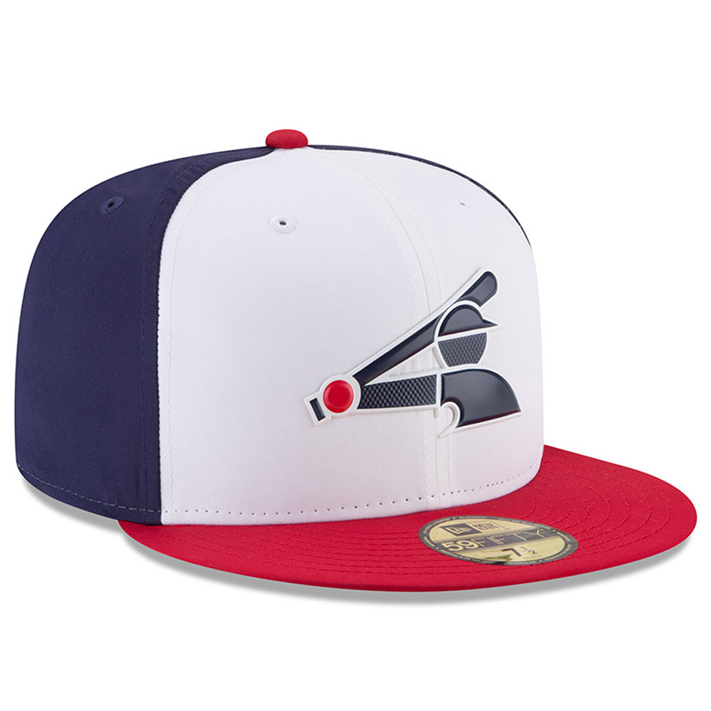 quality design 3184a c8abb Chicago White Sox New Era 2018 On-Field Prolight Batting Practice 59FIFTY  Fitted Hat - White - Walmart.com