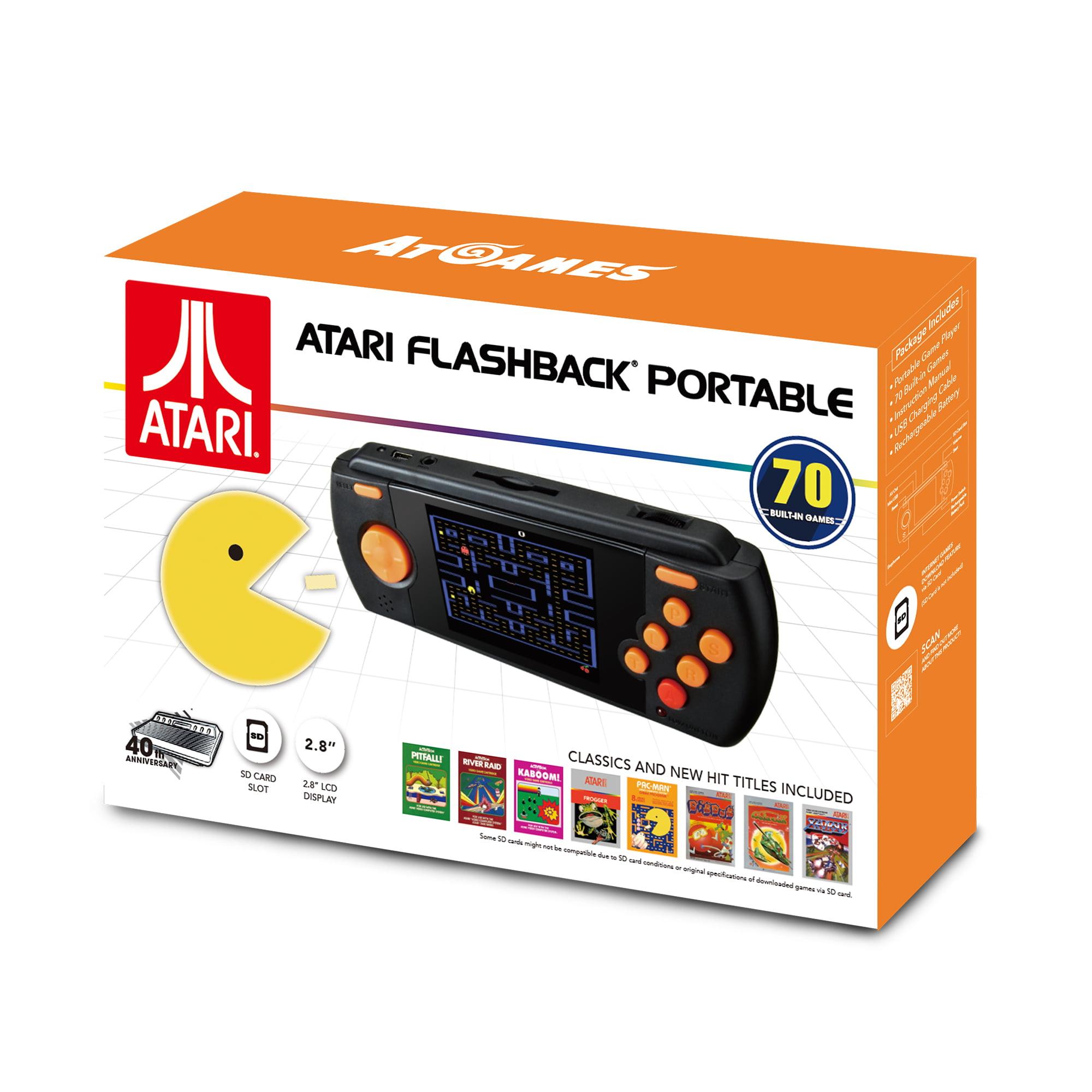 Atari Flashback Portable Game Player, Black, AP3228