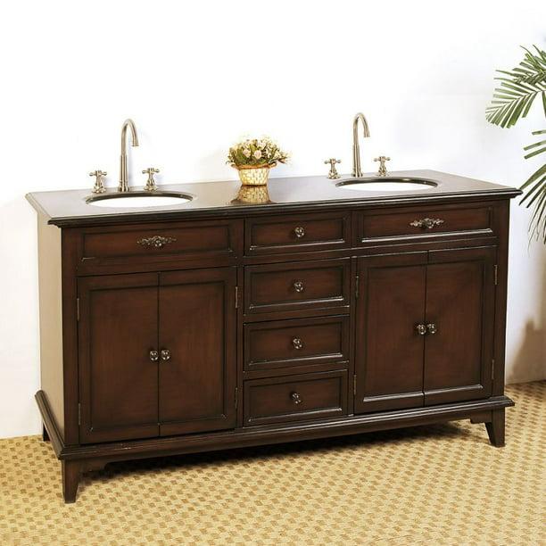 Double Sink Chest Bathroom Vanity