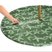 Miles Kimball Fern Zippered Elasticized Umbrella Table Cover