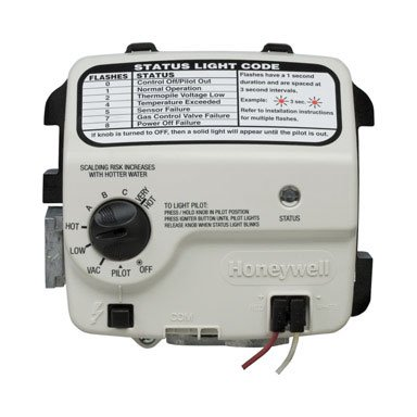 RELIANCE WATER HEATER CO Honeywell Electronic Gas Control Valve For Reliance 300 Series Water Heaters 9007884