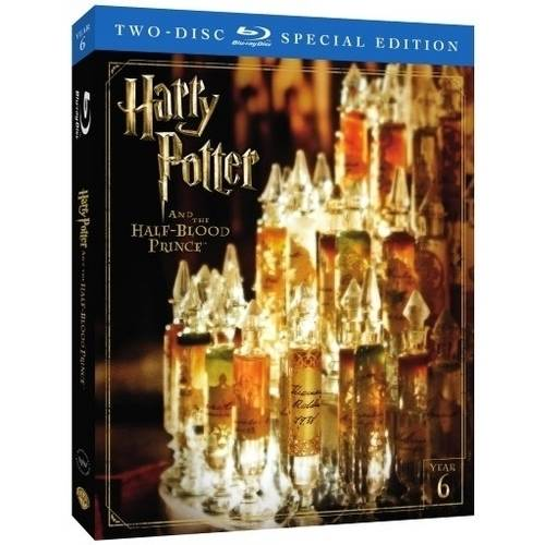 Harry Potter And The Half Blood Prince  2 Disc Special Edition   Blu Ray   Walmart Exclusive   With Instawatch