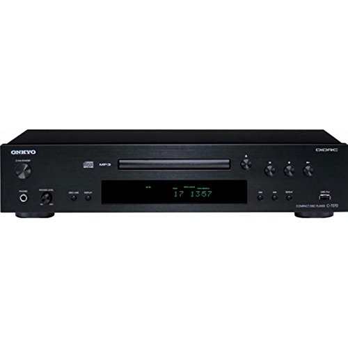Onkyo C-7070 Compact Disc Player, Frequency Response 2Hz-20kHz by Onkyo