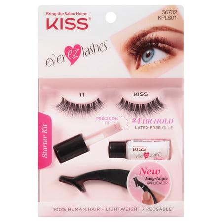 - Kiss Ever Pro Lashes Starter Kit