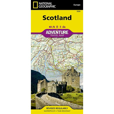 (National Geographic Adventure Travel Maps: Scotland Adventure Travel Map (Other))