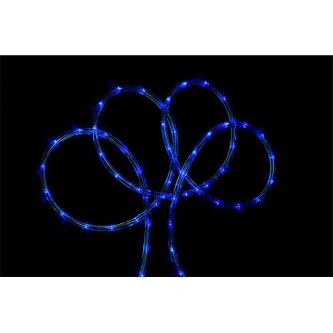 NorthLight 102 ft.  Blue Indoor & Outdoor Christmas Rope Lights
