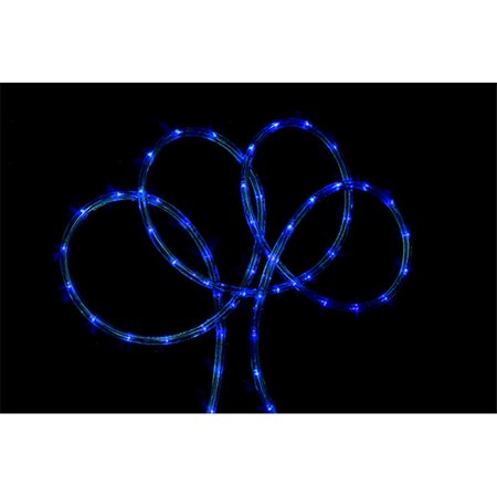 102 ft blue indoor outdoor christmas rope lights