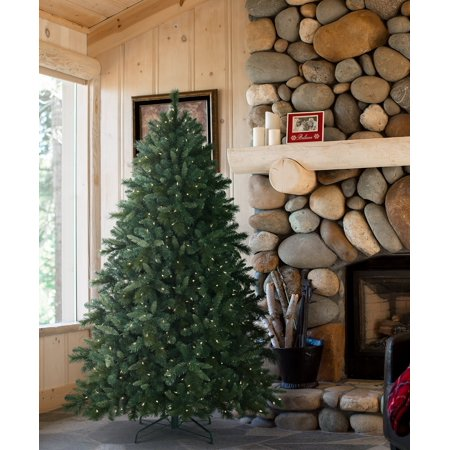 tree classics 7 feet bedford falls fir christmas tree clear lights - Christmas Tree Classics