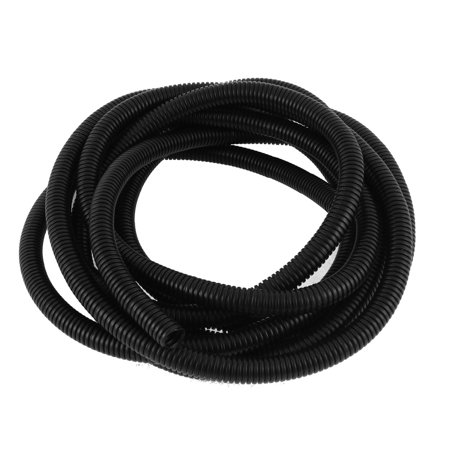 3.8M 13mmx10mm PVC Flexible Corrugated Tubing Wire Cable Conduit Pipe