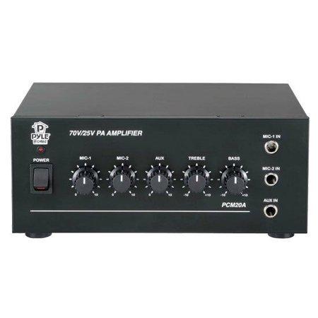 New Pyle PCM20A 40 Watt Power Amplifier w/ 25 & 70 Volt Output DJ Pro Audio (Pyle Amplifier Dj)