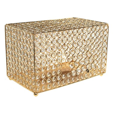Crystal Money Card Box Wedding Centerpiece, 13-3/4-Inch, - Halloween Wedding Money Box