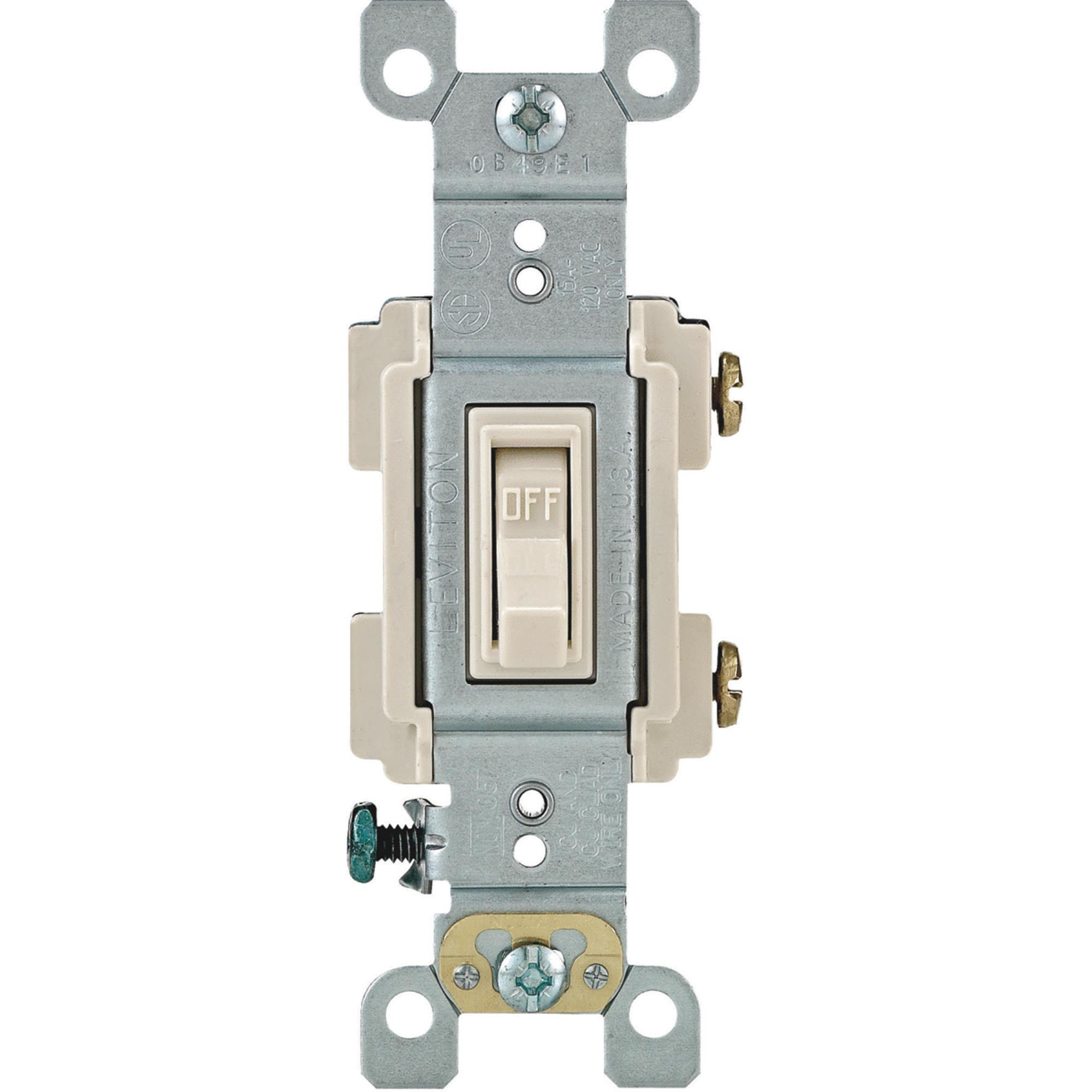 Leviton Residential Grade Toggle Single Pole Switch