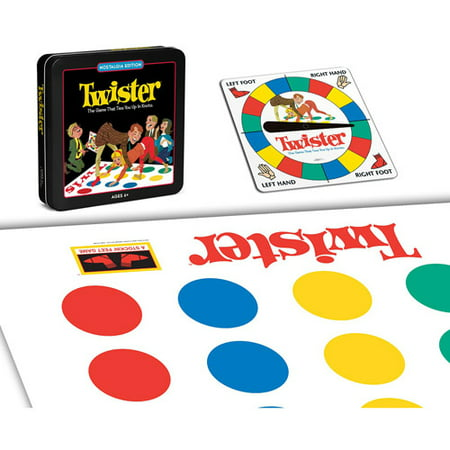 Winning Solutions Twister Board Game, Nostalgia Edition Game Tin](Halloween Twister Game Uk)