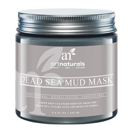 Day Of The Dead Face Mask (Art Naturals artnaturals 8.8-ounce Dead Sea Mud Mask for Face, Body and)