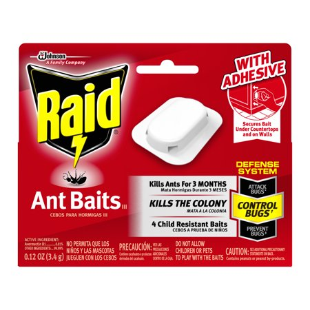 Raid Ant Baits III, 4 count (2 (Trap Replacement Bait)