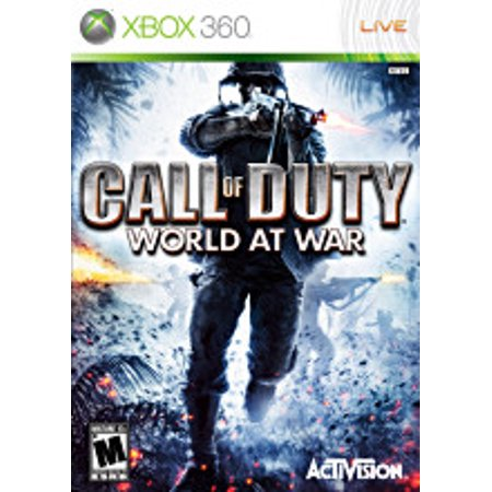 Call of Duty World at War- Xbox 360 (Refurbished) (World Best Fighting Games)