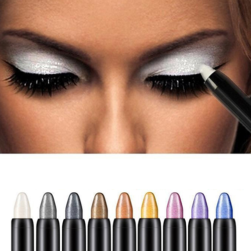 HiCoup Beauty Highlighter Eyeshadow Pencil Cosmetic Glitter Eye Shadow Eyeliner Pen